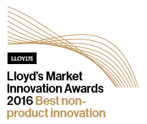 Lloyd's Market Innovation Awards Winner 2016