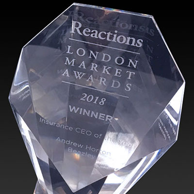 Reactions London Market Award Beazley