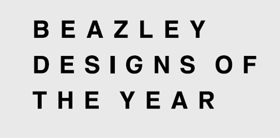 Beazley designs of the year logo